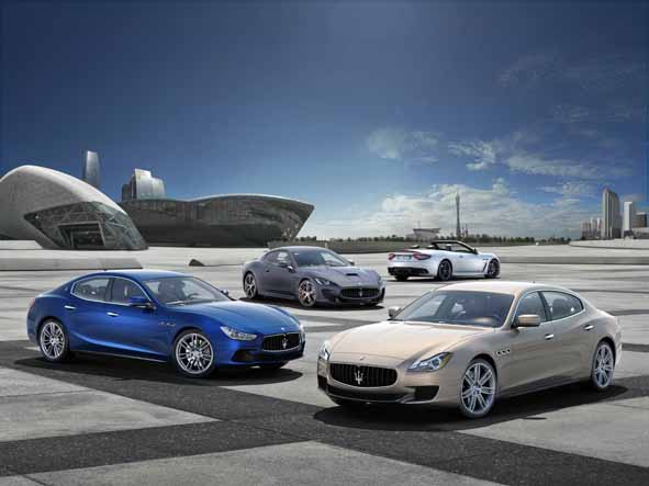 -Maserati Range 2014
