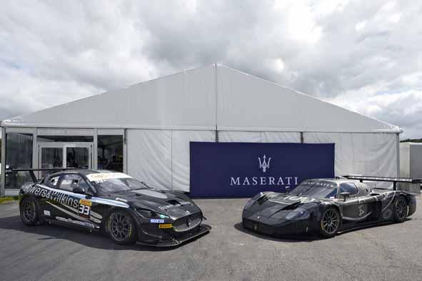 -Maserati GranTurismo MC Trofeo - Maserati MC12 GT1 Centenario
