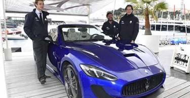 Maserati Racing programs 2015_ P-Casiraghi_G-Soldini_J-Elkann-Ma