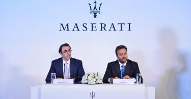 Maserati_rientro in India_da Sx a Dx_Bojan Jankulovski & Umberto Cini