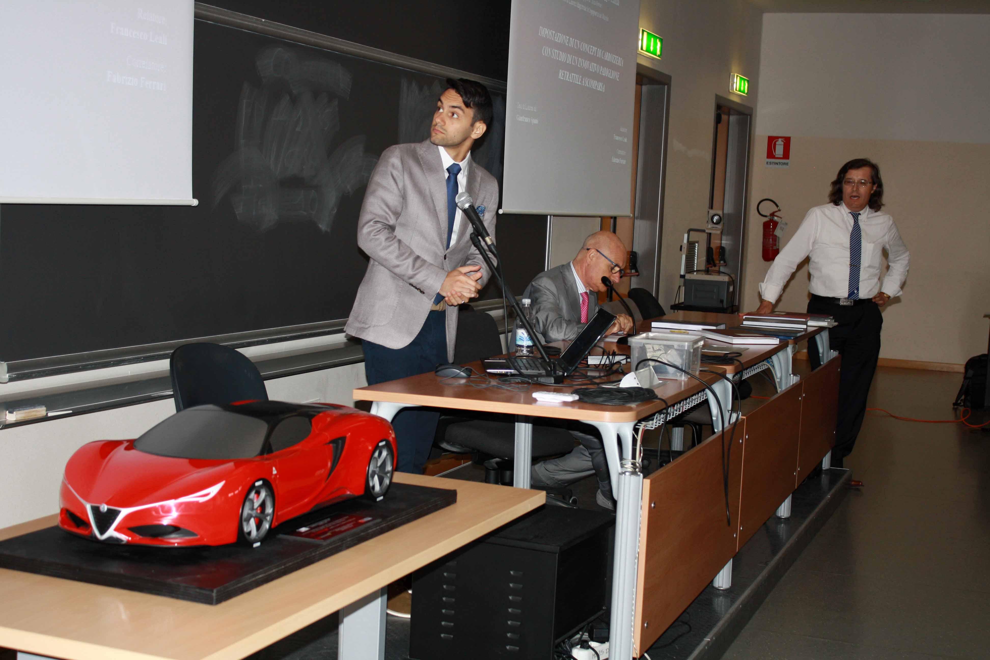 Photo of Ancora un modello ed un'inedito progetto di ricerca, alle Lauree Magistrali in Ingegneria del Veicolo a Modena!