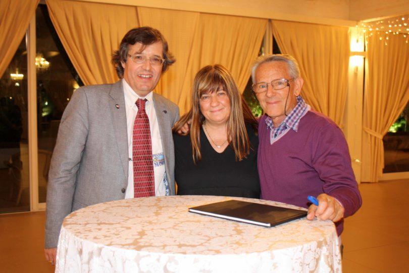 Da sinistra a destra: Fabrizio Ferari, Cristina Guizardi e Lauro Malavolti