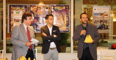 Ristorante Vinicio, Modena: 23 settembre 2016 Premiazioni: il Prof. Francesco Leali (a destra) Photo Copyright:  Lorenzo Ferrari