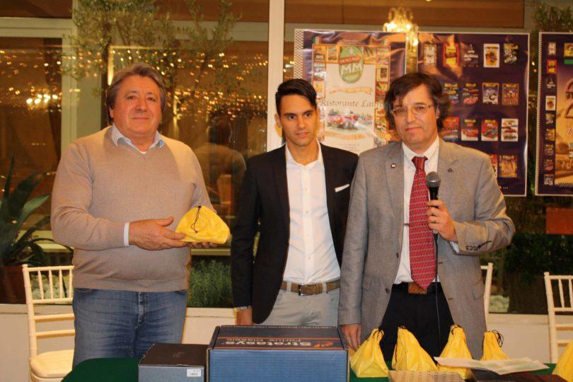 Ristorante Vinicio, Modena: 23 settembre 2016 Premiazioni: Mauro Bertocchi (a sinistra) Photo Copyright:  Lorenzo Ferrari