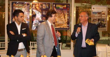 """Ristorante Vinicio, Modena: 23 settembre 2016 Premiazioni: Luigi """"Nanni"""" Campana (a destra) Photo Copyright:  Lorenzo Ferrari"""