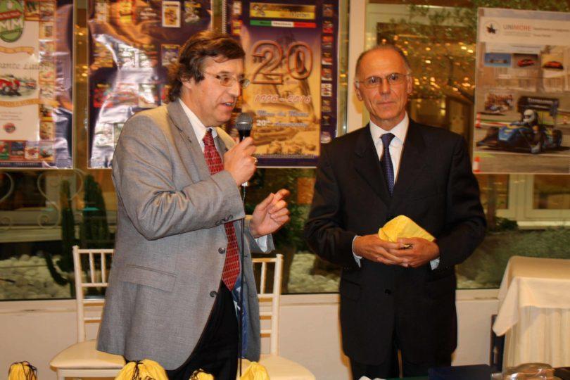 Ristorante Vinicio, Modena: 23 settembre 2016 Premiazioni: Ing. Mario Vincenzi (Motor Service) a destra Photo Copyright:  Lorenzo Ferrari