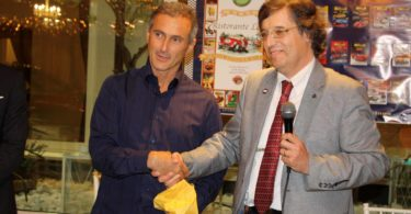 Ristorante Vinicio, Modena: 23 settembre 2016 Premiazioni: Claudio Orlandini (AutoElite) a sinistra Photo Copyright:  Lorenzo Ferrari