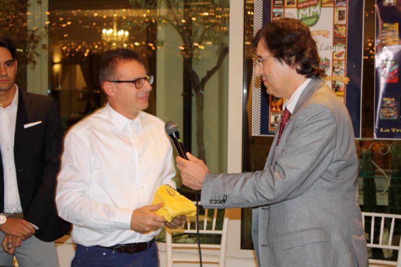 Ristorante Vinicio, Modena: 23 settembre 2016 Premiazioni: Luca Salvioli (Top Motors) Photo Copyright:  Lorenzo Ferrari