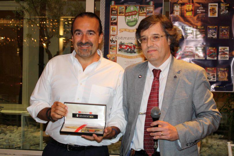 Ristorante Vinicio, Modena: 23 settembre 2016 Premiazioni: Prof. Alessandro Capra Photo Copyright:  Lorenzo Ferrari