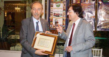 Ristorante Vinicio, Modena: 23 settembre 2016 Premiazioni: Prof. Giovanni Sebastiano Barozzi Photo Copyright:  Lorenzo Ferrari