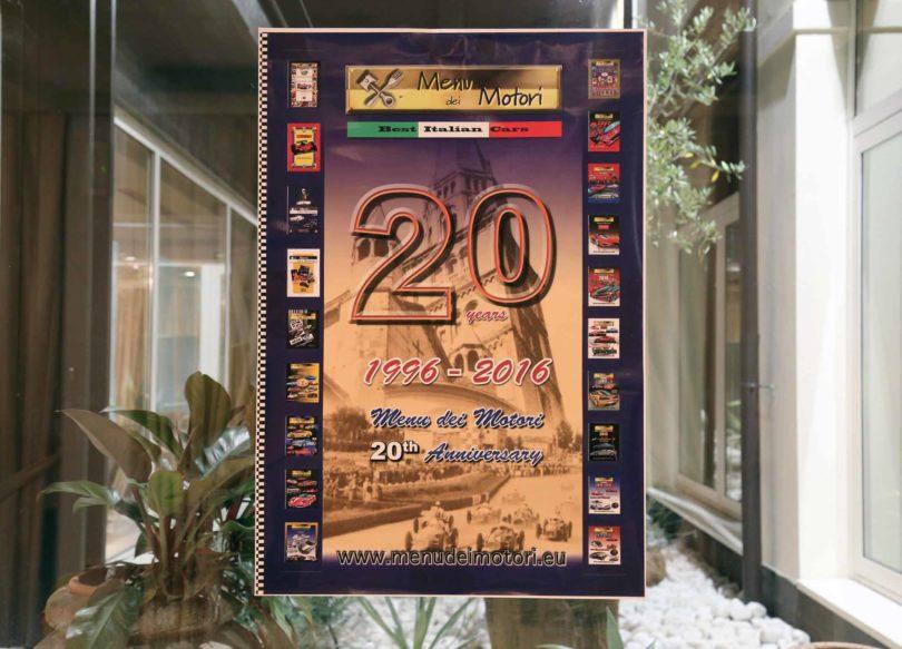"""Modena, 23 settembre 2016, Ristorante Vinicio: 20° Anniversario """"Menu dei Motori"""" (1996-2016)  Photo copyright: Roberto Brancolini"""