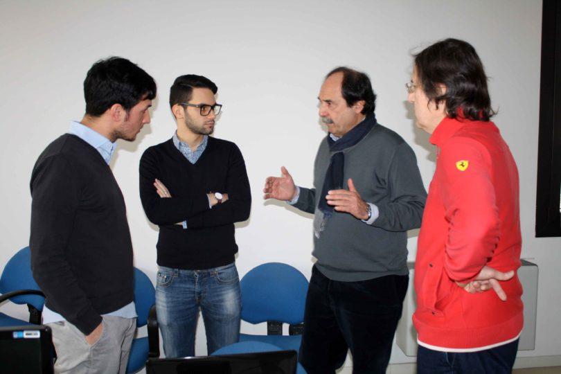 Da sinistra a destra: Vincenzo Megna, Gianfranco Spanò, Antonio Cesaretti e Fabrizio Ferrari - Photo copyright Lorenzo Ferrari