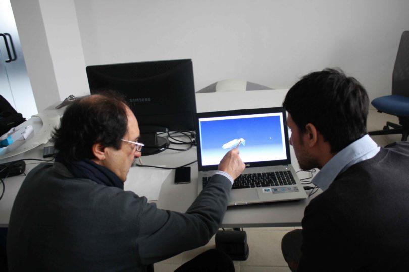 Ing. Antonio Cesaretti (a sinistra) con il candidato Vincenzo Megna - Photo copyright Lorenzo Ferrari