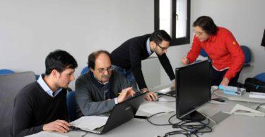 Da sinistra a destra: Vincenzo Megna, Antonio Cesaretti, Gianfranco Spanò e Fabrizio Ferrari - Photo copyright Lorenzo Ferrari