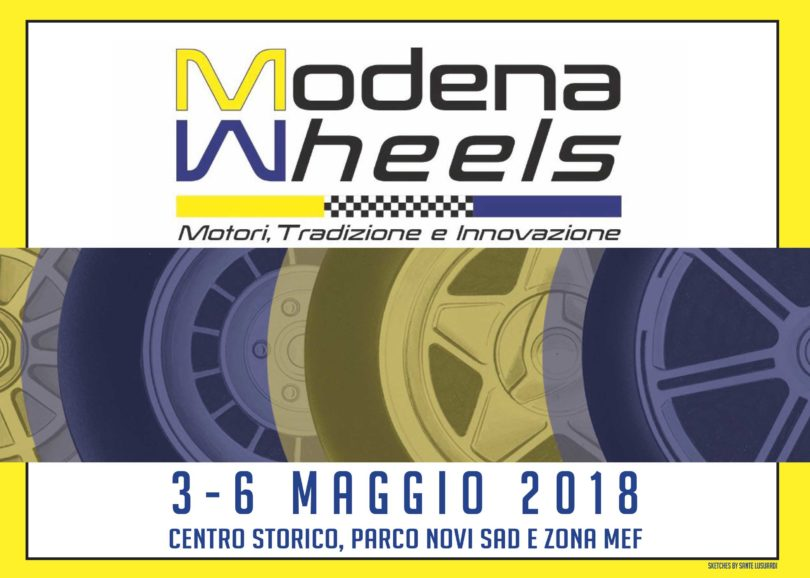 Cartolina modena Wheels-1