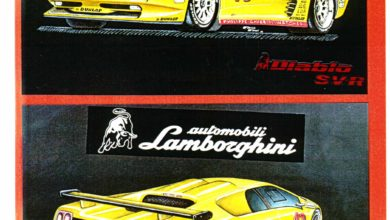 Photo of VIDEO GALLERY – Fabrizio Ferrari Design for Lamborghini (1989-2001)