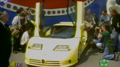 Photo of VIDEO – Bugatti EB110 S for Michael Schumacker (archive)