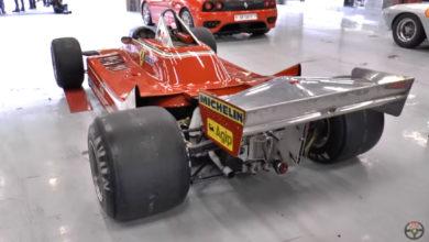 Photo of VIDEO – Ferrari 312T4 F1 car, flat 12 warmup/race at Spa!