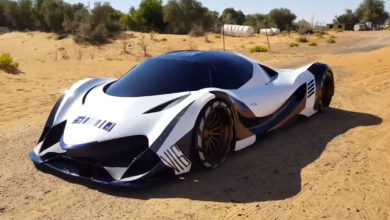 Photo of VIDEO – Devel Sixteen 5000HP V16 – FASTEST Car In The World