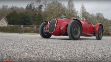 Photo of VIDEO – 1936 Alfa Romeo 8C