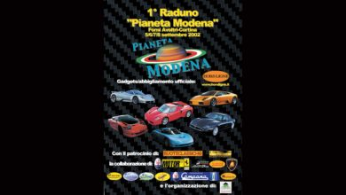 "Photo of VIDEO GALLERY – HISTORY – Menu dei Motori: 1° meeting ""Pianeta Modena"" (Sept. 2002)"