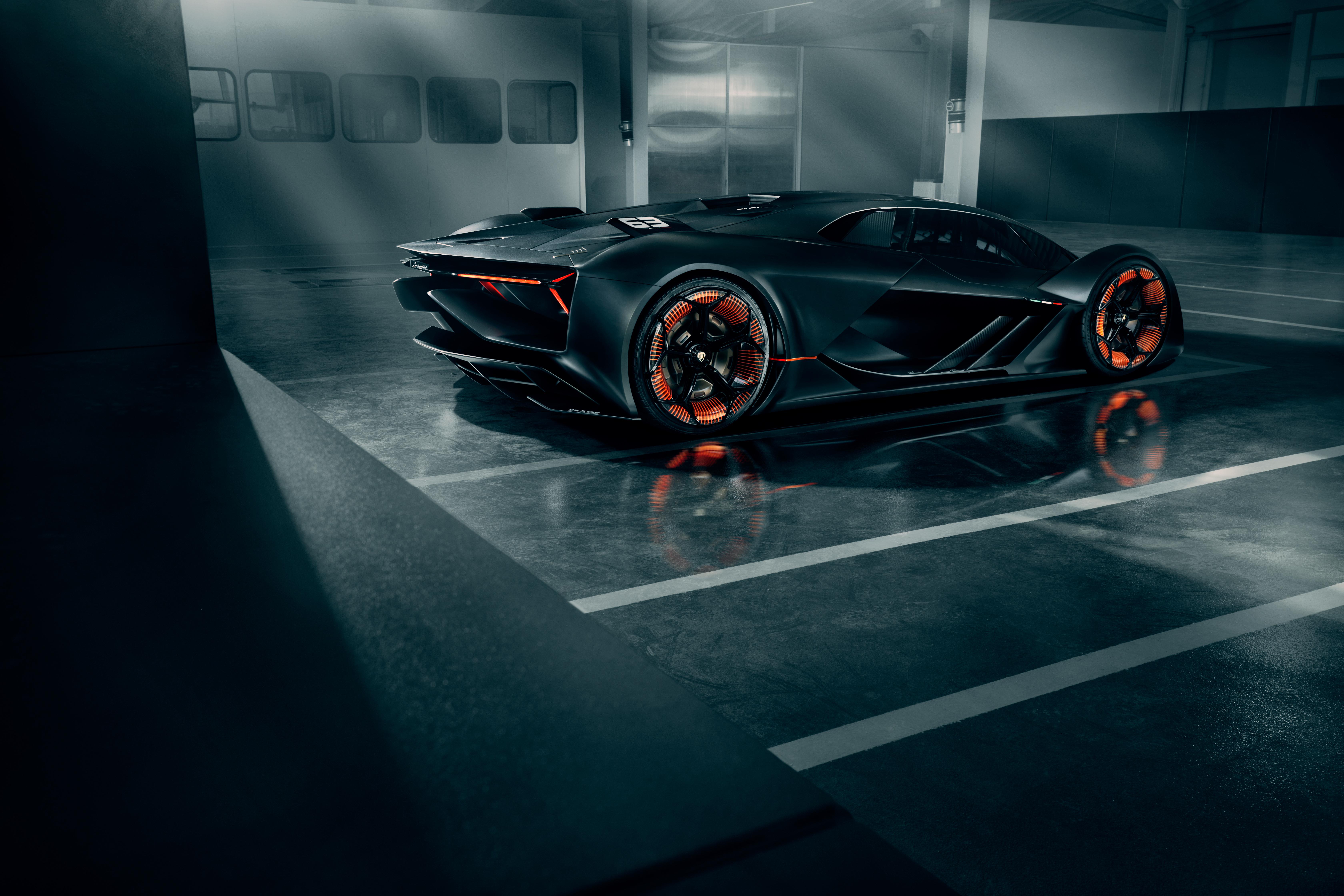 Lamborghini Terzo Millennio At The Geneva Motorshow 2018 Menu Dei