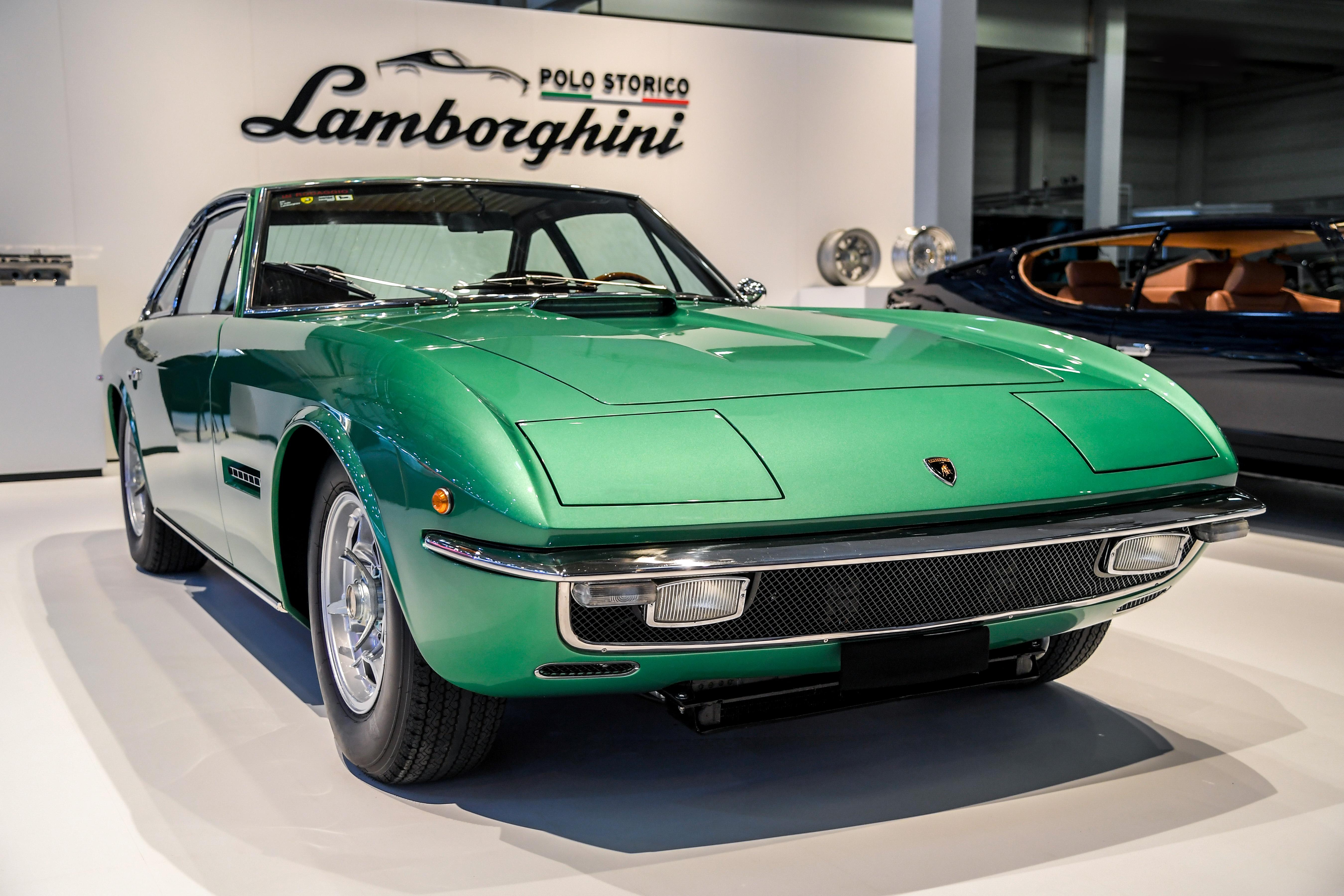 Lamborghini Polo Storico Celebrates 50 Years Of Espada And Islero At