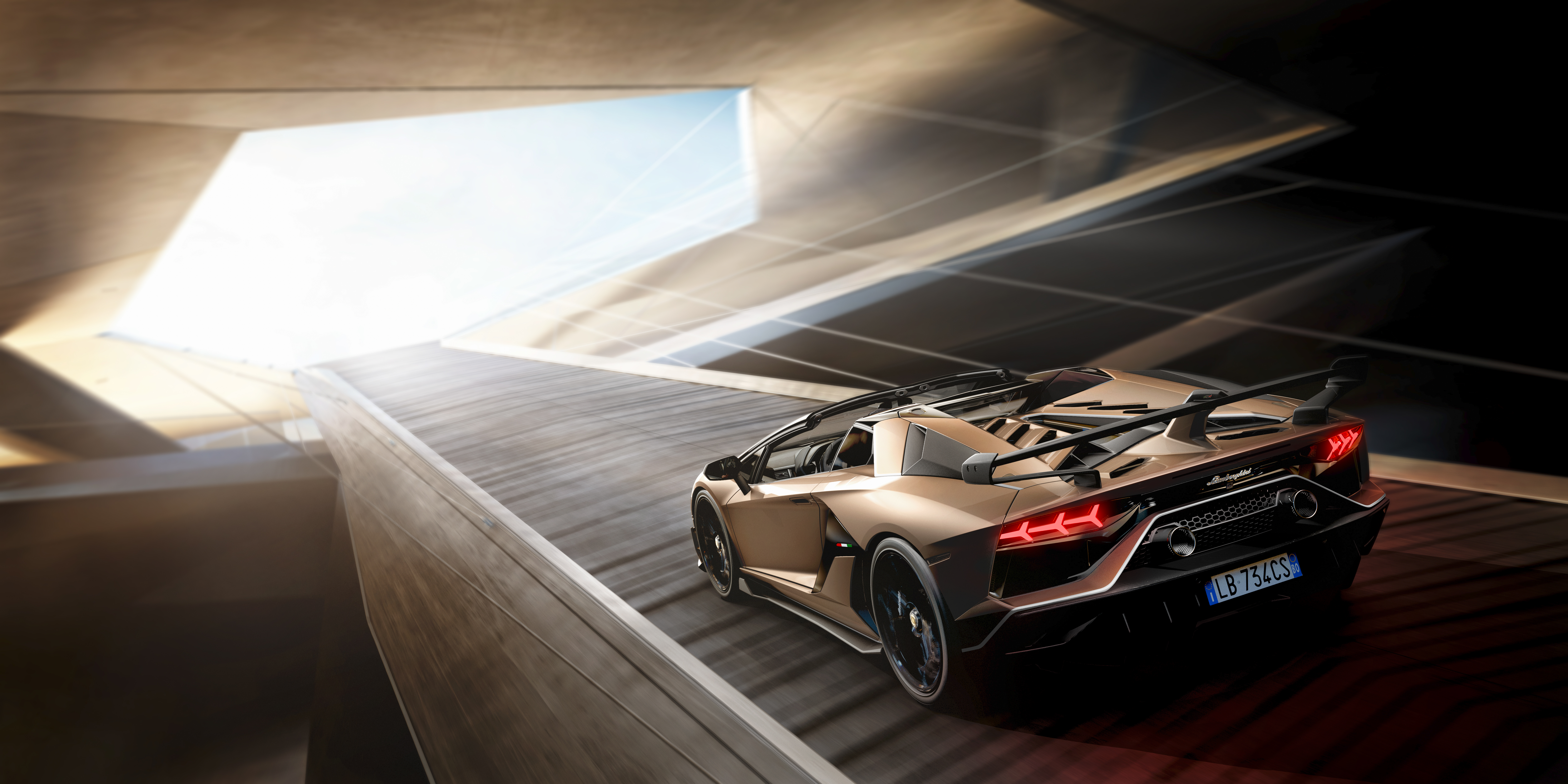 Automobili Lamborghini Launches The Aventador Svj Roadster At Geneva