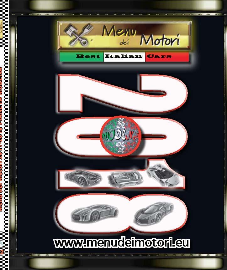 """Photo of Menu dei Motori N°22 – Tra le esclusività, l'articolo dedicato all'ultima evoluzione del progetto di ricerca """"AHR"""" all'Università di Modena."""