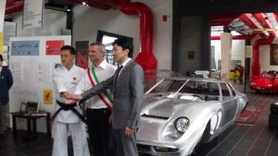 """Photo of VIDEO – Lamborghini Miura """"J project"""" presentation – Ferruccio Lamborghini Museum"""