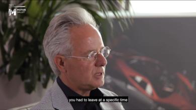 Photo of VIDEO – HORACIO PAGANI racconta i tempi in Lamborghini, la Ferrari e la Modena Design – Motor Valley