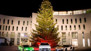Photo of Lamborghini Christmas Drive: viaggio natalizio di Aventador SVJ, Huracán EVO e Urus a chiusura di un 2019 di successi
