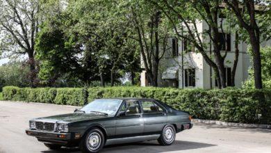 Photo of Quarant'anni fa la Maserati Quattroporte veniva presentata al Presidente della Repubblica Sandro Pertini