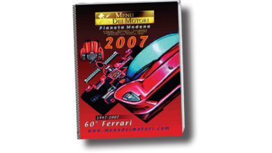 Photo of Menu dei Motori 2007: dedicated to the 60th FERRARI!