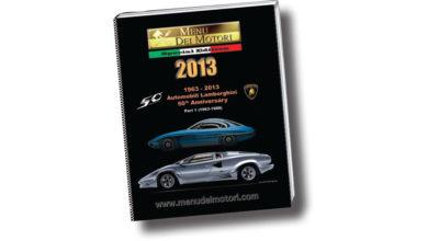 Photo of Menu dei Motori 2013, un vero libro, dedicato al 50° Lamborghini e poi frutto di un accordo speciale con uno dei maggiori editori giapponesi: la NEKO PUBBLISHING