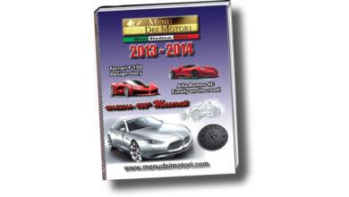 Photo of Menu dei Motori 2013-2014: si consolida il nuovo formato, più grande e lussuoso e, questa volta il volume è dedicato al Centenario della Maserati, realizzato con la loro direttacollaborazione.