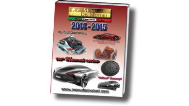 Photo of Menu dei Motori 2014-2015: ancora un numero dedicato al Centenario Maserati (agli avvenuti festeggiamenti), sempre nel nuovo più grande e lussuoso formato.