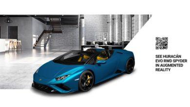 """Photo of Lamborghini Huracán EVO Rear-Wheel Drive Spyder: celebrazione della vita """"en plein air"""""""