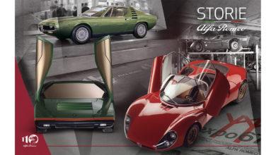 """Photo of """"Storie Alfa Romeo"""", settima puntata – La rivoluzione di forme e colori: 33 Stradale, Carabo e Montreal"""