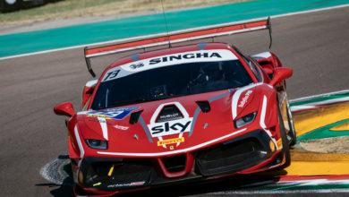 Photo of Ferrari Challenge Europe – La prima volta di Ziemian in pista