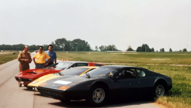 Photo of VIDEO – Ferrari 365 GT4 BB – Lamborghini Countach LP400 – Maserati Bora