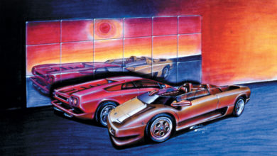 Photo of VIDEO – Lamborghini Diablo Roadster concept (1992)