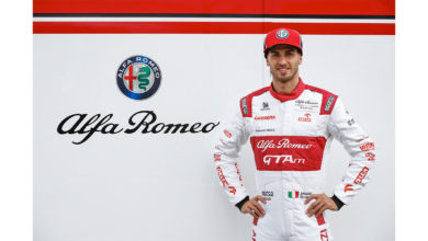 Photo of Antonio Giovinazzi per la ripartenza del campionato di Formula 1 in Austria