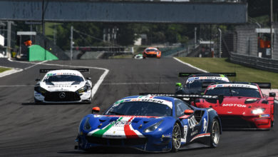 Photo of International GT Open – Debutto sfortunato per AF Corse a Budapest
