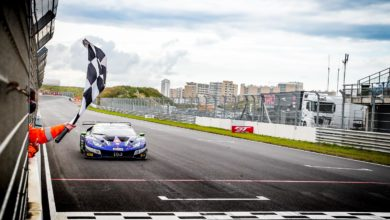 Photo of Lamborghini centra la prima vittoria stagionale nel GT World Challenge Europe a Zandvoort