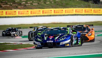 Photo of Lamborghini vittoria e podio nel GT World Challenge Europe a Barcellona