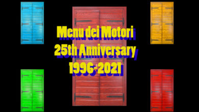 "Photo of Welcome in the 25th Anniversary of ""Menu dei Motori"""
