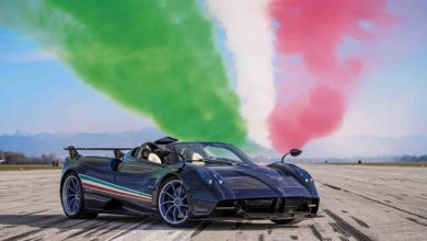 Photo of New: Pagani Huayra Tricolore