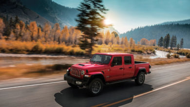 Photo of Ordini aperti per la nuova Gladiator, il pick-up Jeep® con leggendarie capacità 4×4