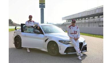 Photo of Giulia GTA scende in pista con i piloti Alfa Romeo e dà il via al campionato di F1